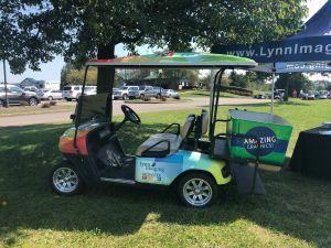 Lynn Imaging Monster Color Golf Cart wrap