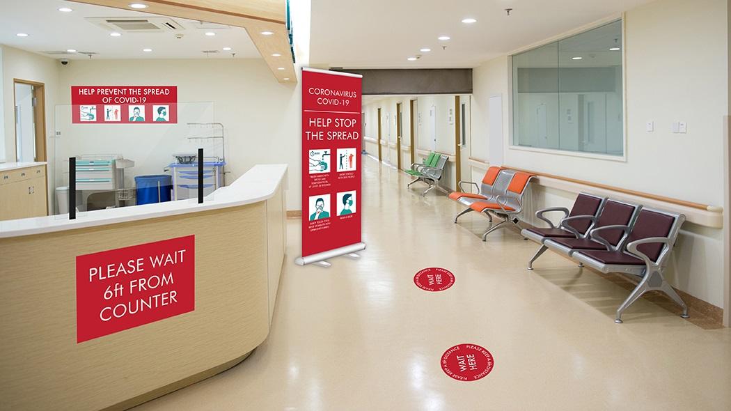 Hospital & Healthcare COVID-19 Graphics