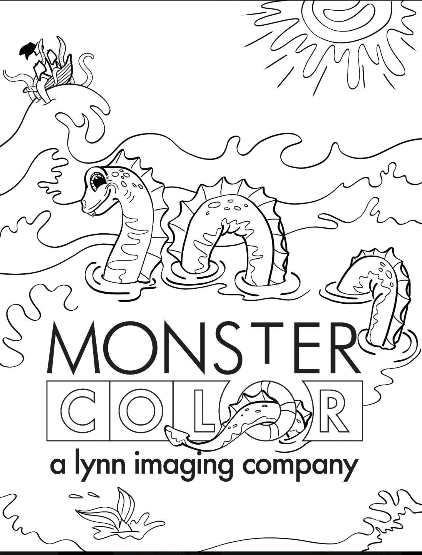 Color Your World Coloring Contest from Monster Color